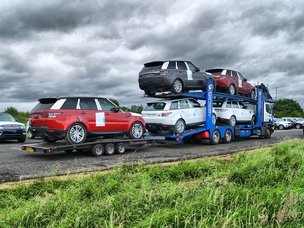 Finished Vehicle Distribution Oem Transportation Division