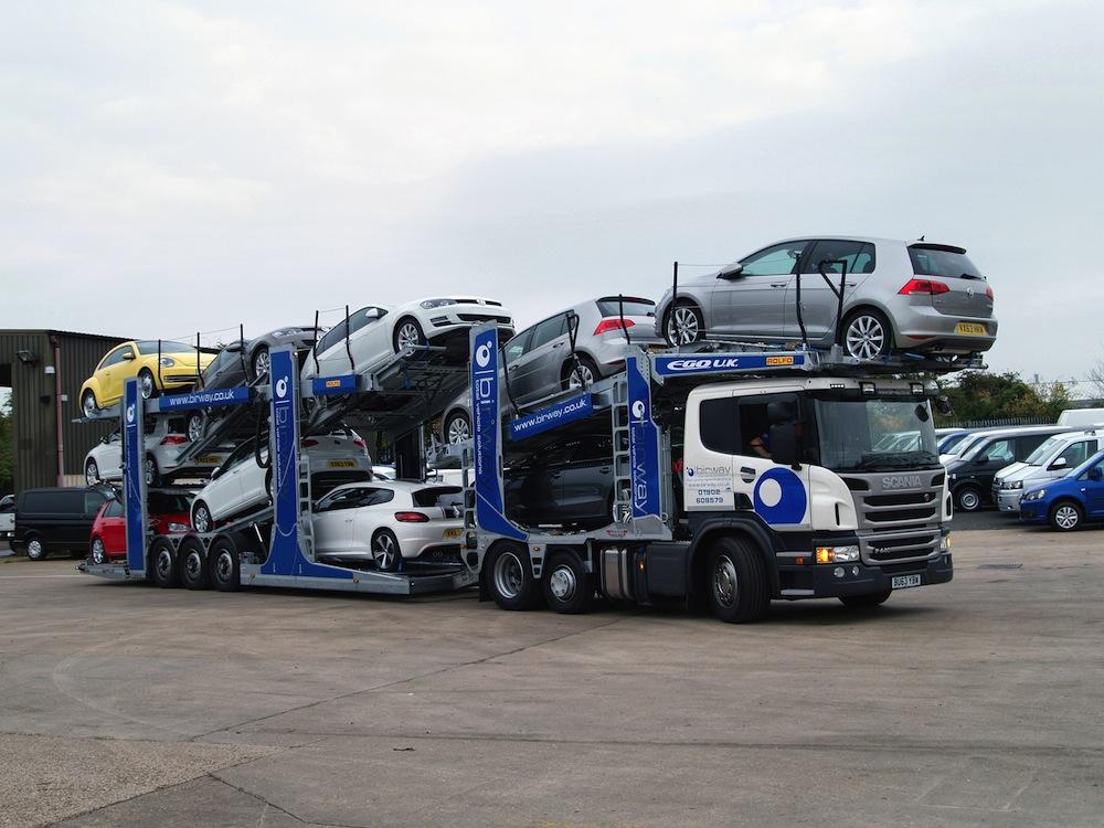 Transporting Cars Between Dealerships