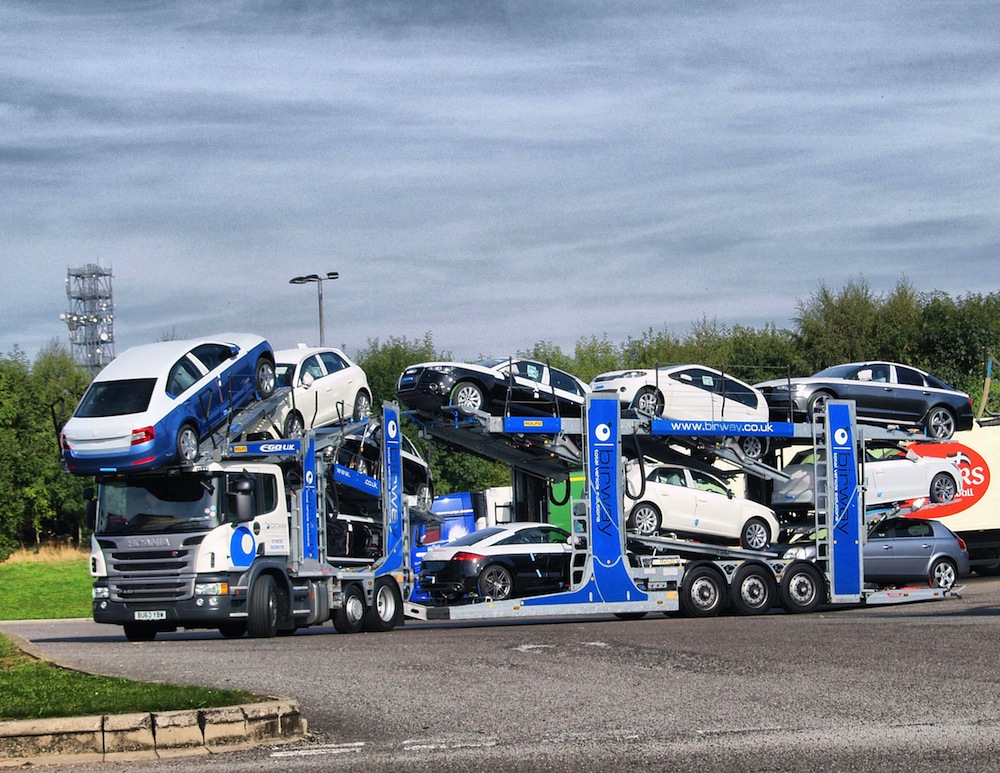 Birway Busy On The Road With Finished Vehicle Distribution