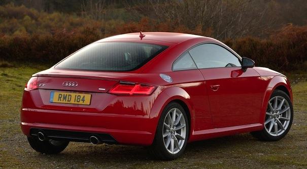car review audi tt coupe 2 0 tfsi s line. Black Bedroom Furniture Sets. Home Design Ideas