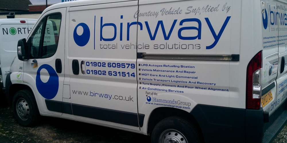 Birway Courtesy Vehicle