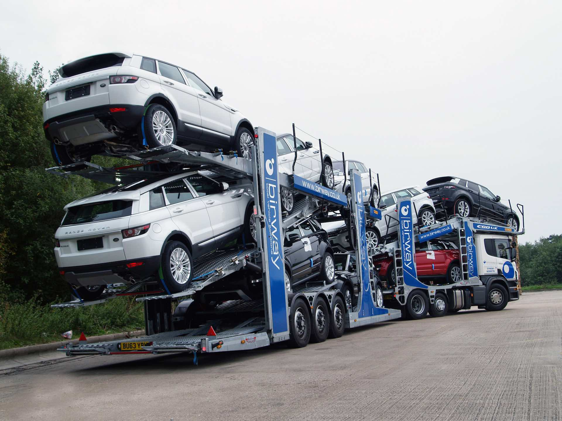 Finished Vehicle Distribution - Vehicle Transport Logistics - Birway