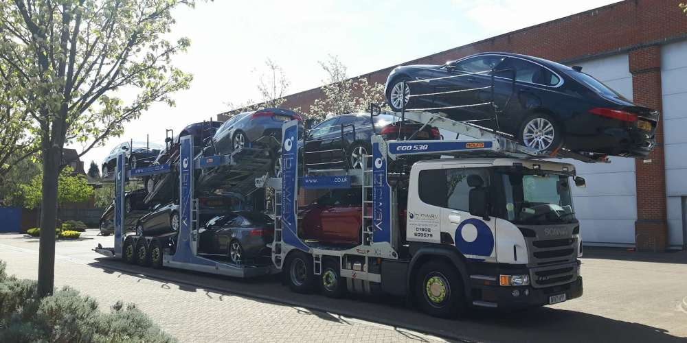 Car Transportation - Vehicle Transport Logistics - Birway