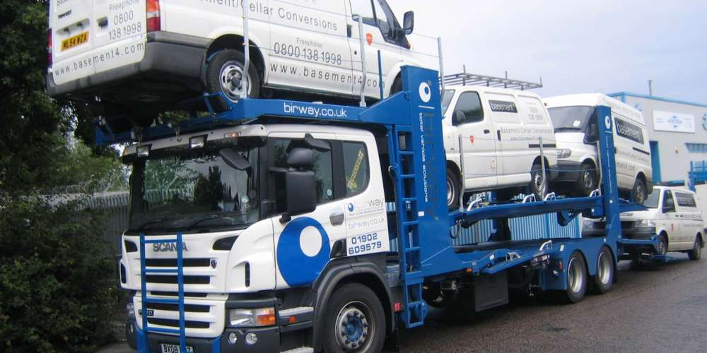 LCV Transportation - Vehicle Transport Logistics - Birway