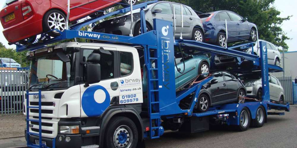 Non Running Vehicles - Vehicle Transport Logistics - Birway