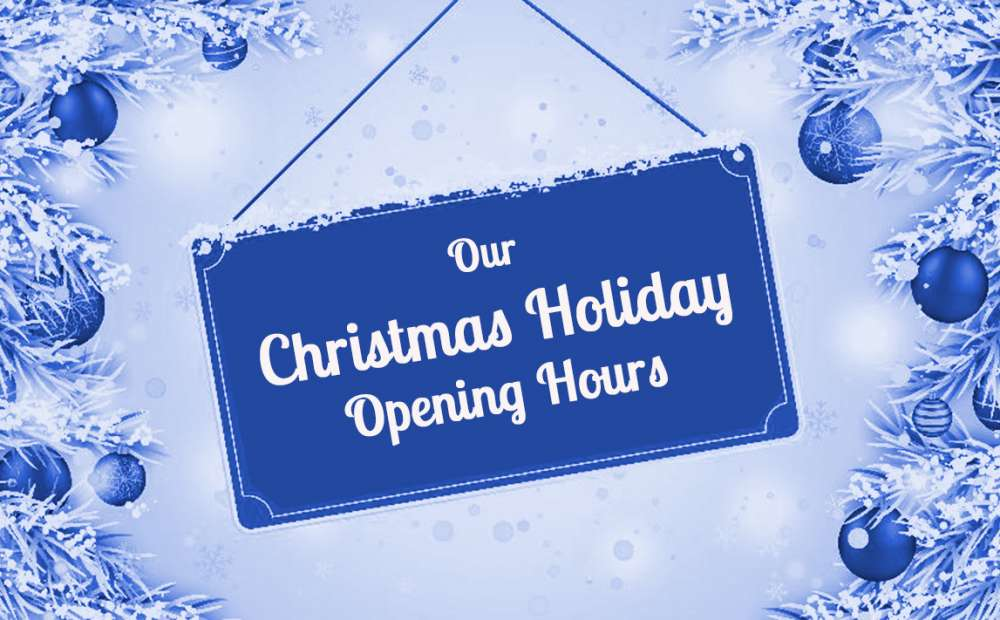 Birway christmas opening hours